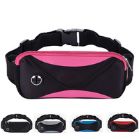 Gym Waist Belt Sport Adjustable Bag With Earphone Hole Running GYM Bags Case Pouch For Apple
