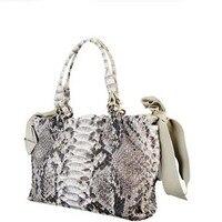 Jialante neue schlangenhaut frauen handtasche damentasche echt Python haut frauen fashion bag stil casual bag neue