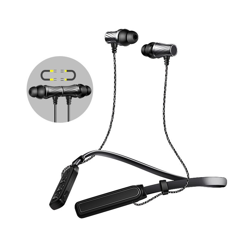 GDLYL Wireless Bluetooth Earphone Neckband Sport Stereo Bass Running Portable Bluetooth Headphone Headset With Mic headset 4 1 wireless bluetooth headphone noise cancelling sport stereo running earphone fone de ouvido for xiaomi iphone huawei