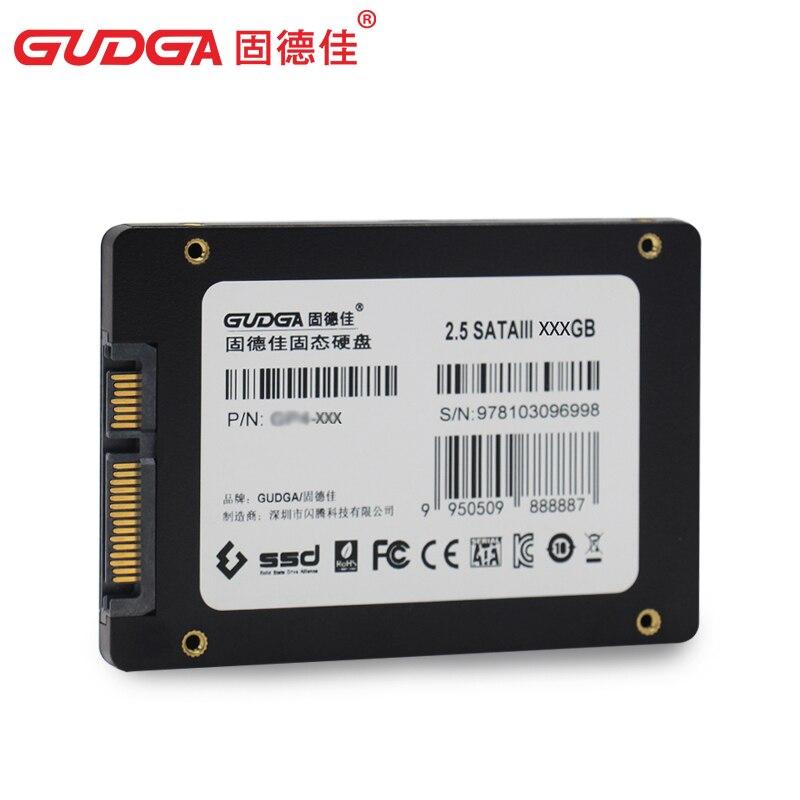 Disco Duro de Disco Duro DE 2,5 Pulgadas SATA3 SSGB de 60GB 240GB para computadora port/átil de Escritorio 120Gb 120GB