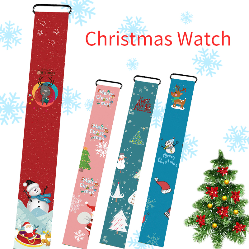 Kids Watches Waterproof Electronic-Clock Digital Girls Boys LED Bracelet Magnetic-Buckle