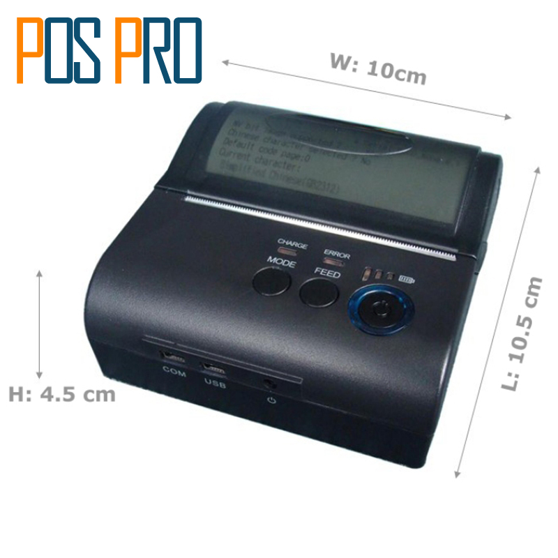 IMP005 POS 80mm Mobile Portable Thermal Receipt Bill Bluetooth Printer Support Computer Apple Android FreeSDK Support Logo Print imp005 pos 80mm mobile portable thermal receipt bill bluetooth printer support computer apple android freesdk support logo print