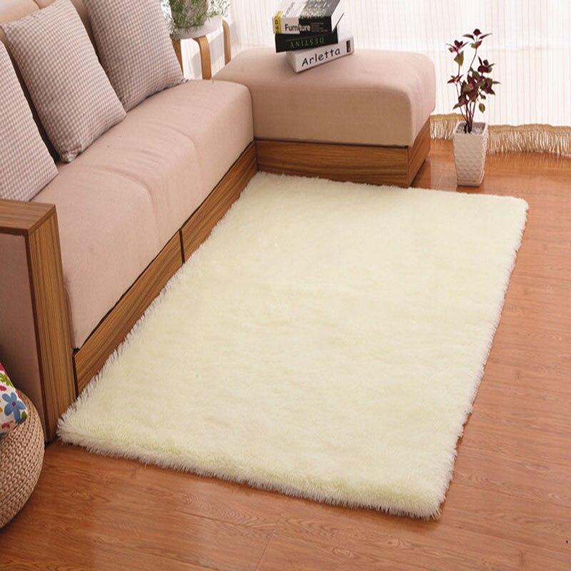 35cm Pile Height Velvet Carpet For Living Room Sofa Coffee Table Large Floor Mats Tapetes