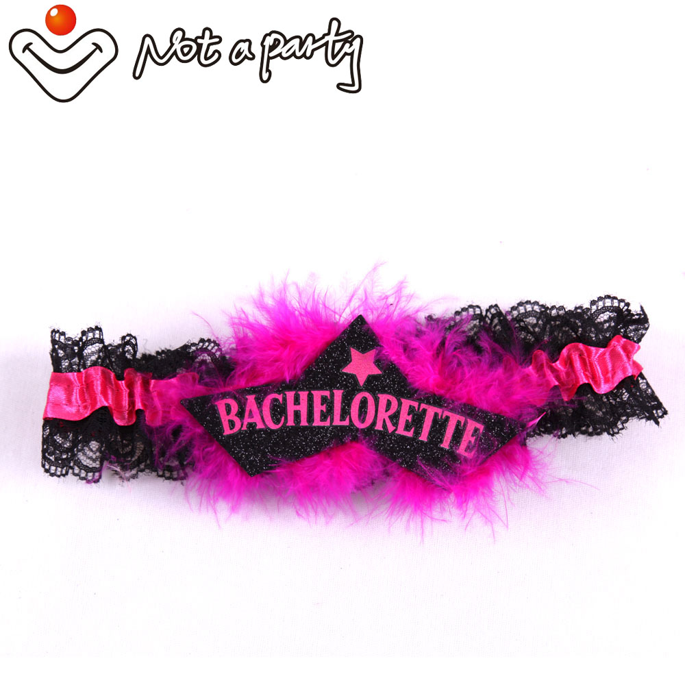 Aliexpress.com : Buy 6pcs hot pink feather garters all for ...