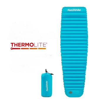 Naturehike -15 Degree Manually Press TPU Inflatable Mattress Ultralight Camping Mat Tent Air Pad Outdoor Cushion Sleeping Pads