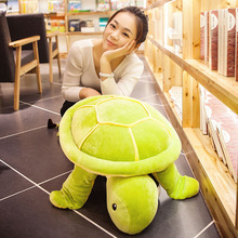 large 65cm down cotton turtle plush toy cute tortoise very soft doll throw pillow Christmas gift s2087
