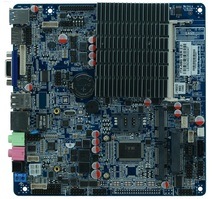 Fanless Mainboard with MSATA,Mini-PCIE Untra Thin Motherboard DC12v Fanless Bay Trail J1900 motherboard