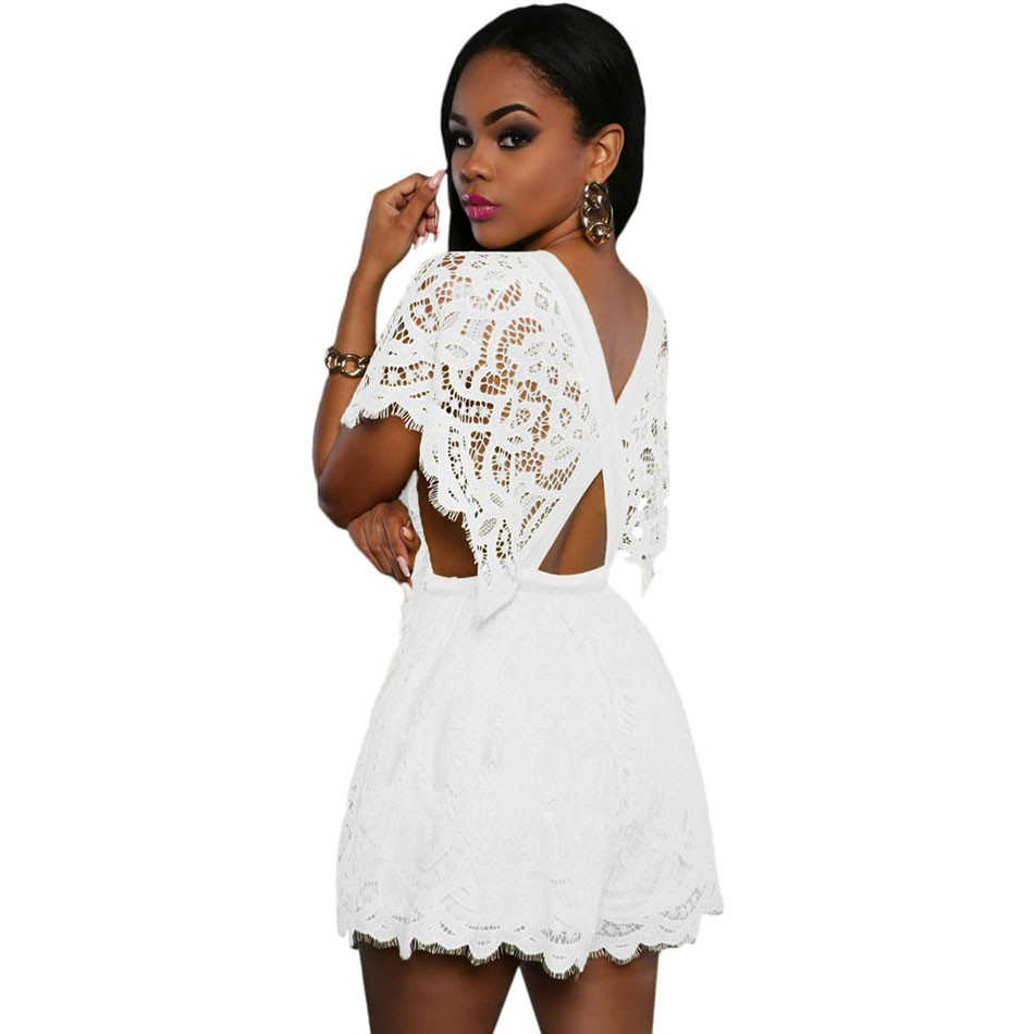 White-Lace-Sheer-Top-Romper-LC64004-1-2