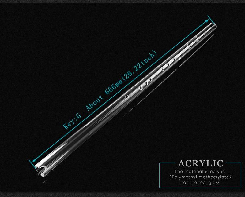 Специальная Новинка Хрустальная китайская флейта Xiao Key G высокого качества ABS пластик Xiao китайский духовой инструмент