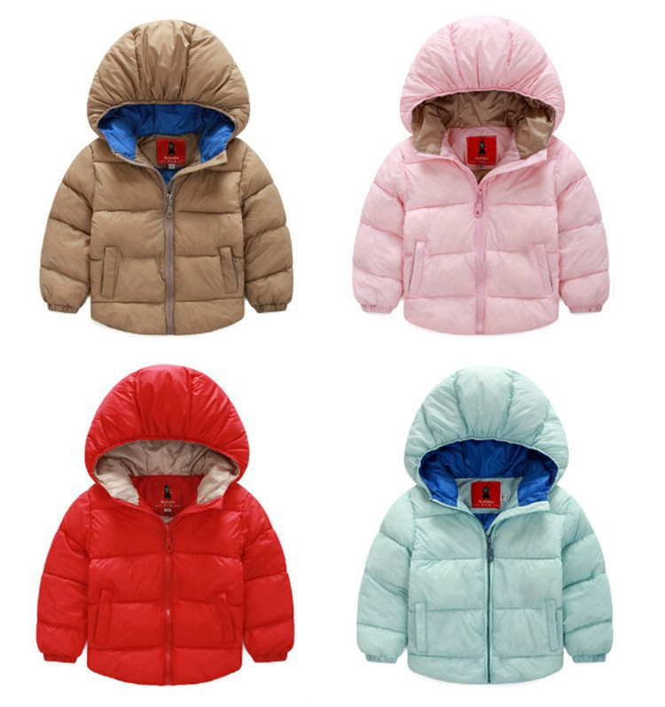 durable modeling New Girls Warm Jacket Warm Candy Colors Kids ...