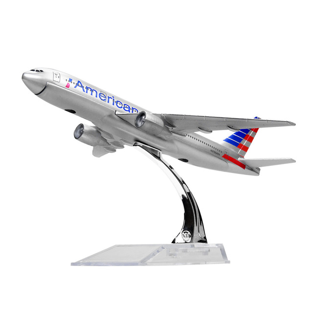 The New American Airlines Boeing 777 16cm alloy metal model aircraft child Birthday gift plane models chiristmas gift