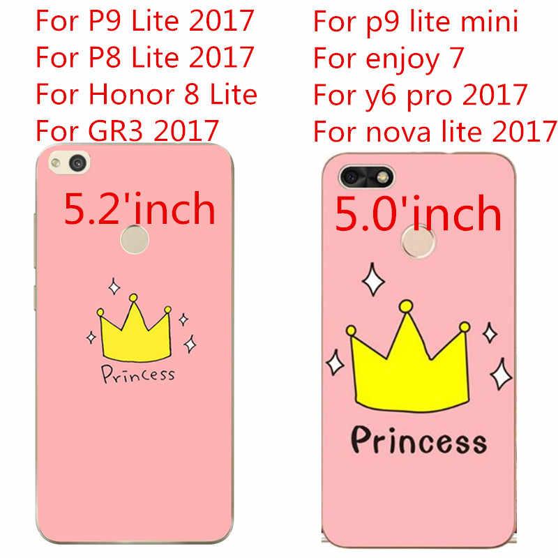 حافظة لهاتف هواوي P8 Lite 2017 Honor 9 P9 Lite Mini P20 Mate 10 Lite