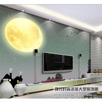 3D Murals Wallpaper For Walls TV Background Night view Stars Moon in the sky Family DIY Art Room Waterproof Wall Papers Good 274
