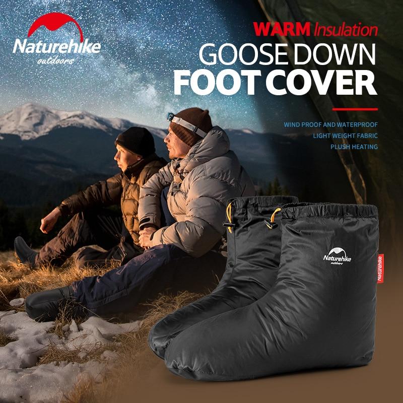 5℃~-20℃ NatureHike Mummy Duck Down Sleeping Bag Winter Camping Outdoor Hiking