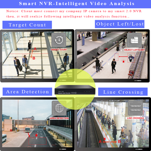 Image 3 - 4 CH NVR POE 1080P IP וידאו מקליט תומך H.265 1VGA + 1HDMI onvif IP מצלמה עבור ip וידאו מקליט אבטחת cctv nvr