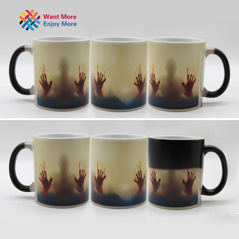 Color Changing Heat Sensitive Ceramic Coffee Mug 3