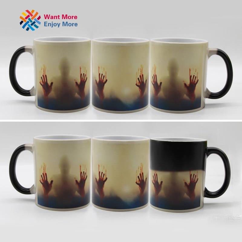 Color Changing Heat Sensitive Ceramic Coffee Mug 3