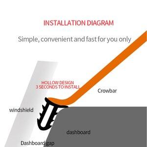 Image 5 - Auto Aufkleber Dashboard Abdichtung Streifen Noise Sound Isolierung Gummi Streifen Universal Für Weathers Auto Innen Zubehör