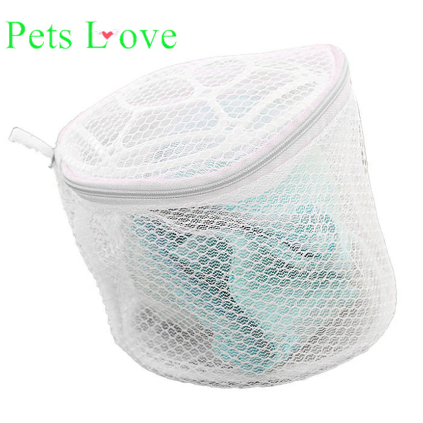 lovely pet New Lingerie Underwear Bra Sock Laundry Washing Aid Net Mesh Zip Bag Rose 922