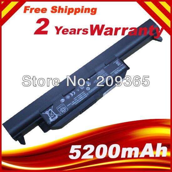Batterie d'ordinateur portable pour Asus X75A X75V X75VD X45VD X45V X45U X45C X45A U57VM U57A X55A X55U X55C a32 - X55V X55VD