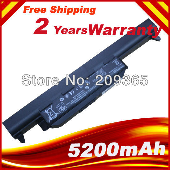 Laptop battery FOR Asus X75A X75V X75VD X45VD X45V X45U X45C X45A U57VM U57A X55U X55C X55A A32-K55 X55V X55VD x45vd motherboard for asus x45vd 2g i3 x45v laptop mainboard tested well