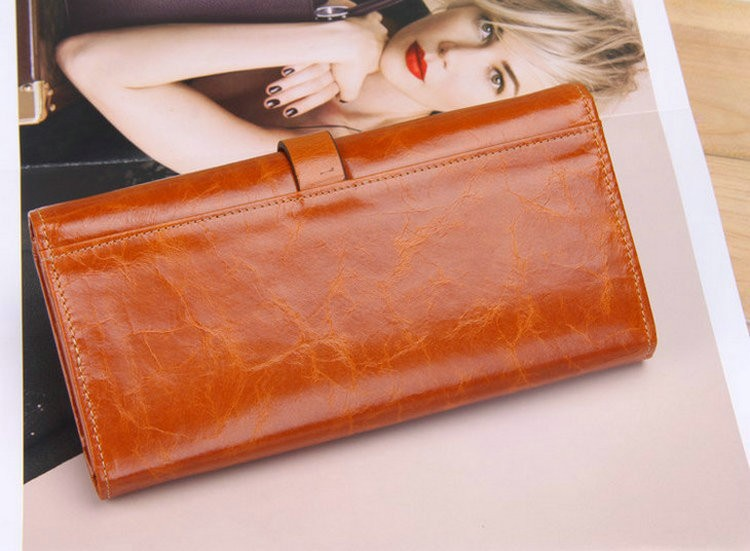 Ladies wallets real leather