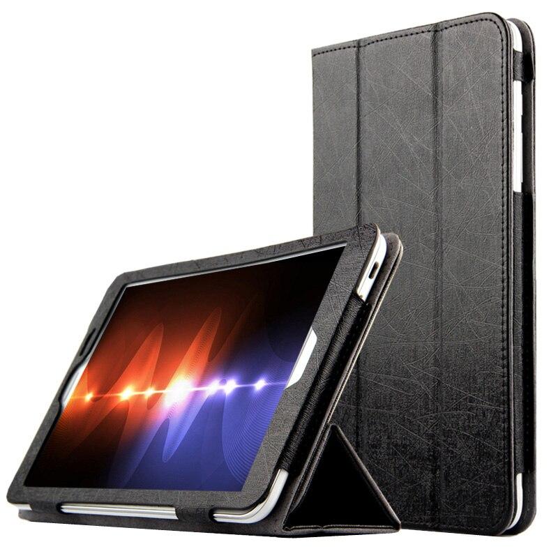 For HuaWei MediaPad T1 8.0 S8-701U/S8-701W/T1-821W/T1-823L Tablet Ultra Slim Mangetic Closure Flip Stand PU Leather Cover Case flip left and right stand pu leather case cover for blu vivo air