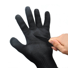1 пара, высокое качество, анти-порезные перчатки, проволочные защитные перчатки, вырезанные из металлической сетки, рабочие перчатки для мясника, садовые инструменты