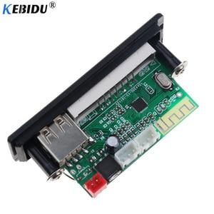 Image 4 - Kebidu ไร้สาย Bluetooth 5.0 AUDIO USB TF วิทยุ FM 5V 12V MP3 WMA ถอดรหัสคณะกรรมการ MP3 พร้อมรีโมทคอนโทรล