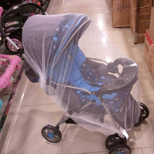 Retail Trendy Infants Baby Stroller Mosquito Pushchair Fly Midge Insect Bug Cover Insect Shield Stroller Accessories(China)