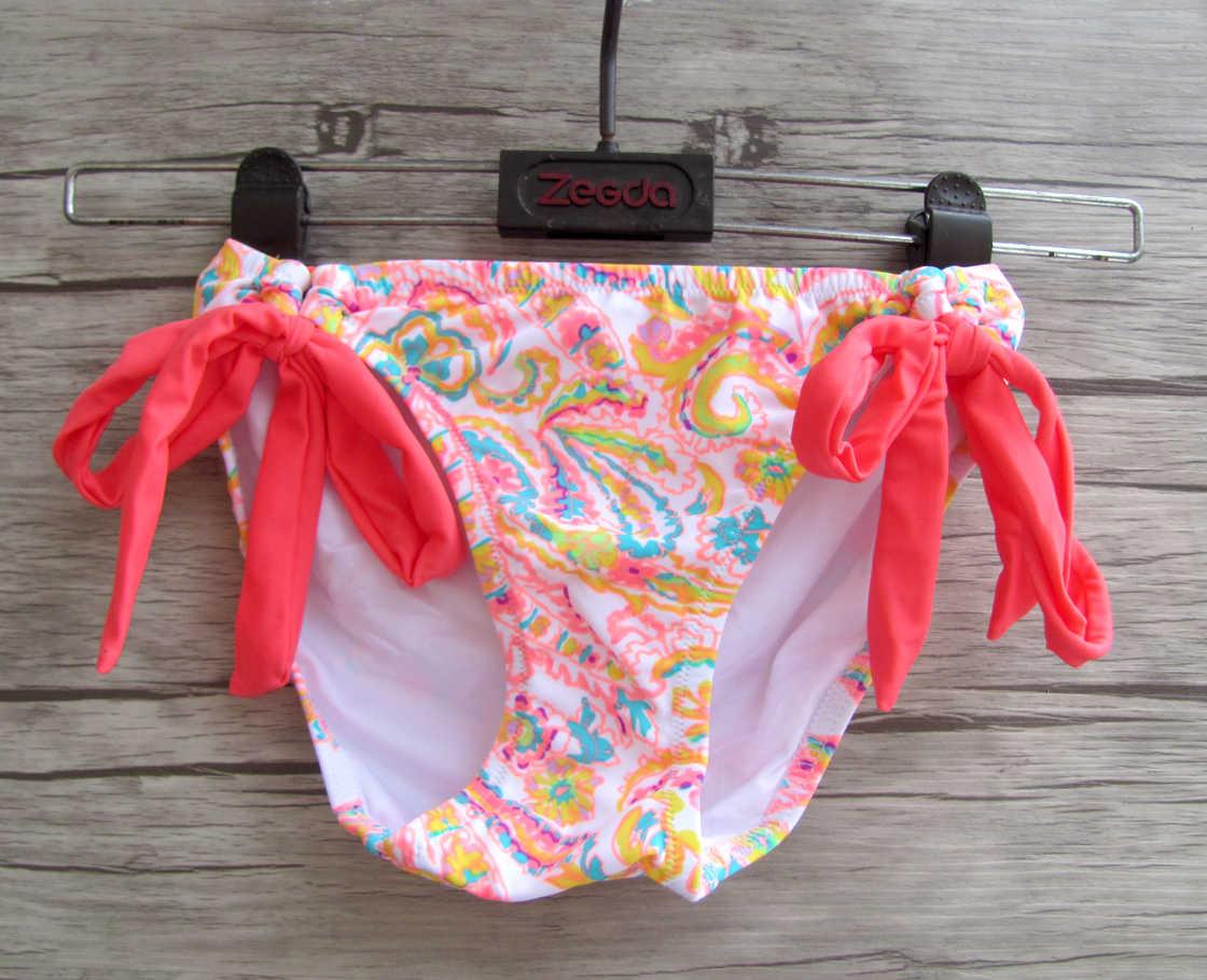 Femmes Bikini impression maillots de bain Maillot de bain à armatures taille basse conçoit des maillots de bain secrets Sexy biqini