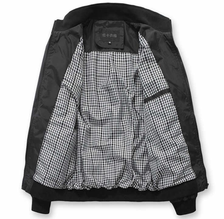 Ceket Erkek Ceket Erkek ceket ve Mont Sonbahar Kış Chaquetas Hombre 2018 Rahat Yumuşak Kabuk Blouson Veste Homme