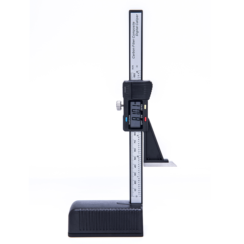 Digital Height Gauge 0-150mm Caliper Electronic Digital Height Vernier Caliper Ruled Ruler Woodworking Table Marking Ruler