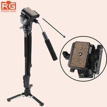 Yunteng 288 Camera Monopod VCT-288 Unipod Holder&Fluid Pan Head For Canon Nikon Sony