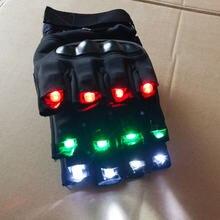 Перчатки со светодиодной подсветкой для ночного клуба перчатки