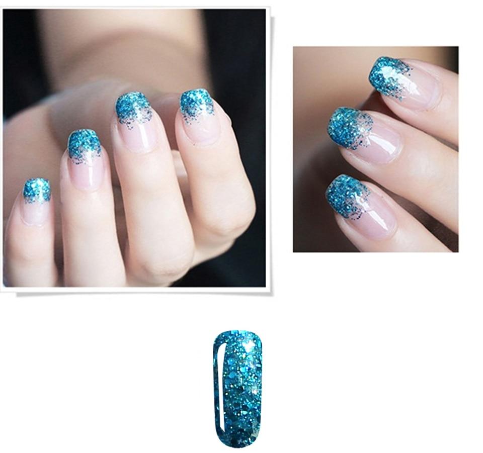 Acaasyd Rose Fles 7 ML Diamond Glitter Gel Nagellak Art Nail Gel ...
