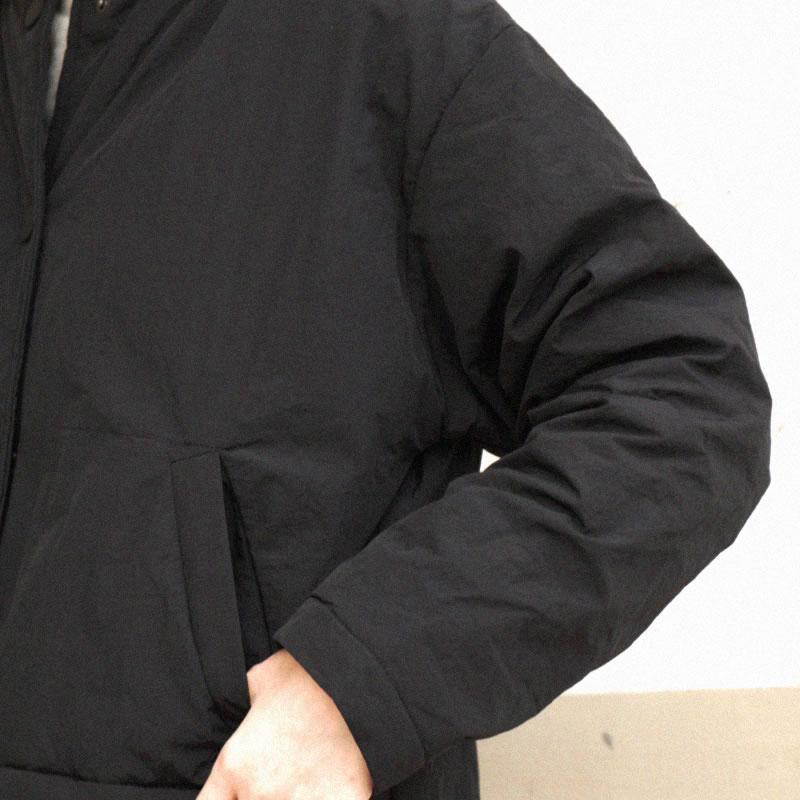 Lyh1135 Nouvelle Pleine Poitrine D'hiver Black 2018 O cou Unique Parka Arrivée Poche Solide Épais Casual xitao Couleur Femmes Manches qTYHdzxx