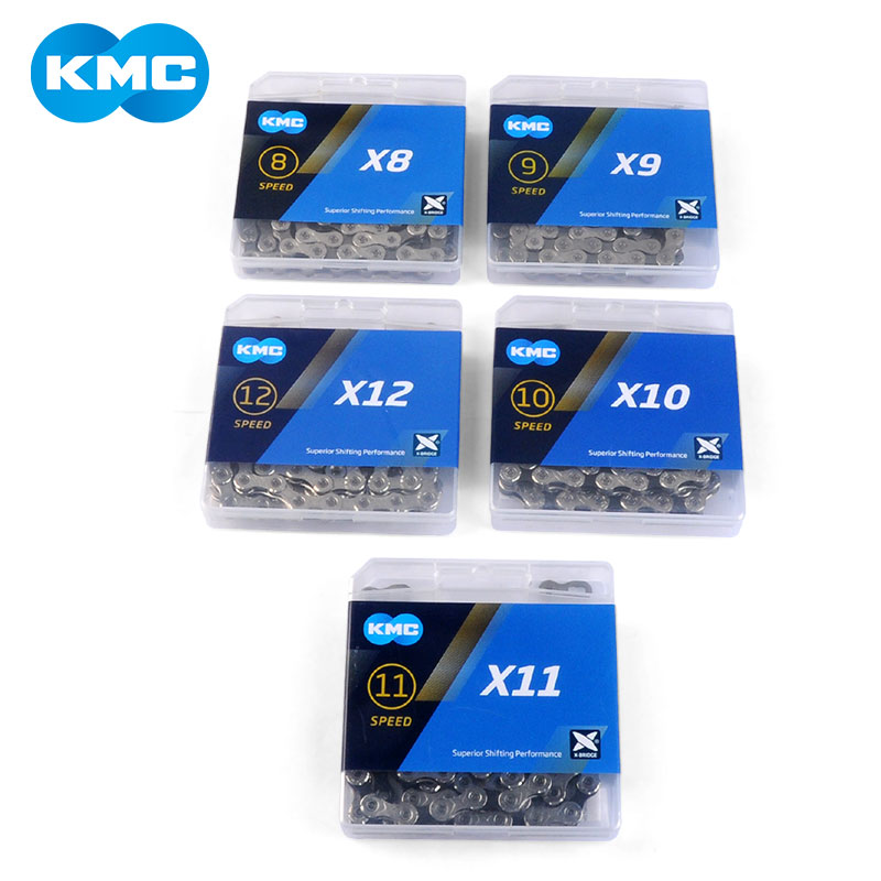 KMC Chain Z8.3 Z9 X8 X9 X10 X11 X12 Super Light Bicycle Chain 8/9/10/11/12 Speed Road MTB Derailleur