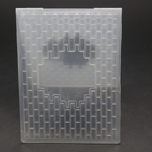 ForeWan Clear Wall Cover Frame Metal Steel Cutting Dies Stencil for DIY Scrapbooking Crafts Paper Decorative Card Embossing