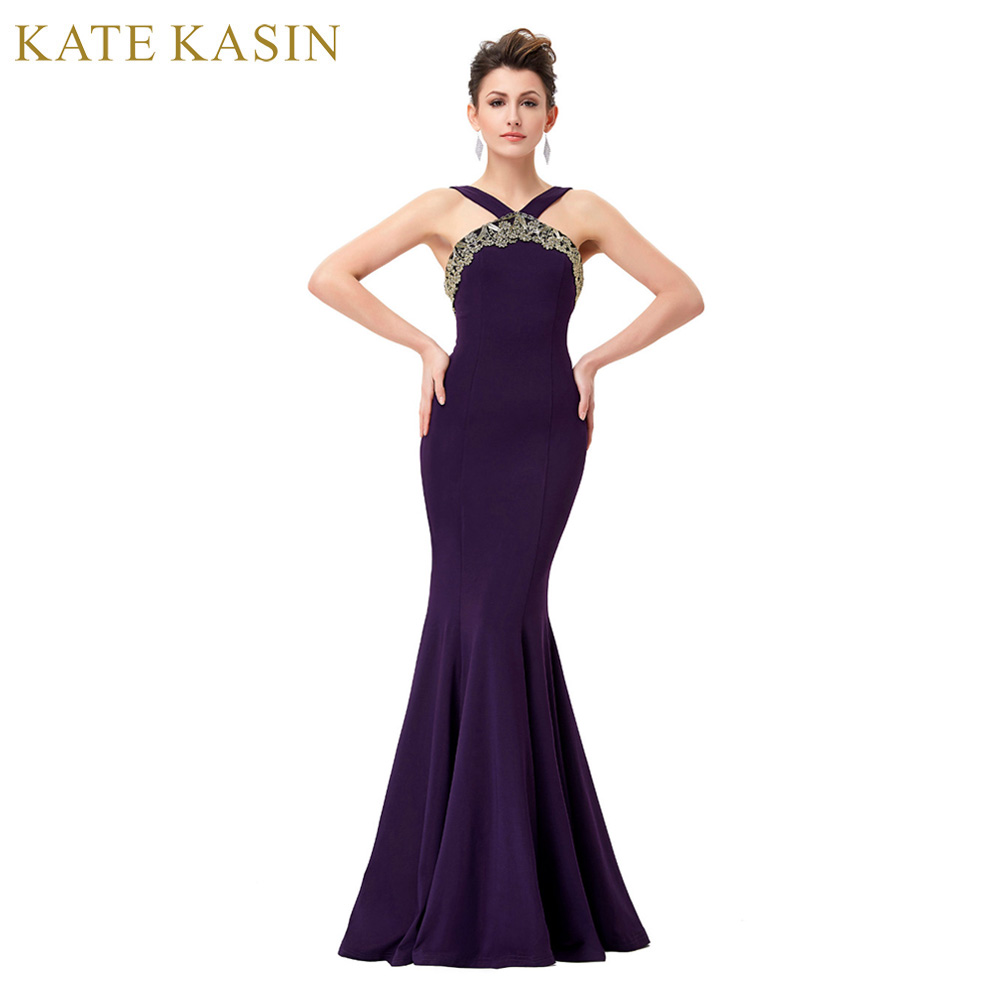 Online Get Cheap Strapless Purple Prom Dresses -Aliexpress.com ...
