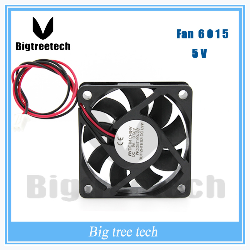 NEW 660mm * <font><b>60mm</b></font> * 15mm 6015 <font><b>5V</b></font> 0.2A DC Brushless cooling <font><b>fan</b></font> 6015 cpu cooler <font><b>fan</b></font> 3D0017 For 3d printer image