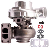 T70 Turbocharger Turbo Charger Exhaust T3 Flange twin scroll oil cooled A/R .82 a/r .70 V Band 500+ HP turbine turbolader