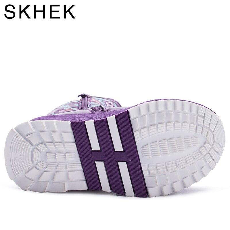 SKHEK-Boy-Girl-Flat-With-Rubber-Boots-New-Winter-Children-Snow-Boots-Waterproof-Anti-skid-Children-Warm-Shoes-1765-5