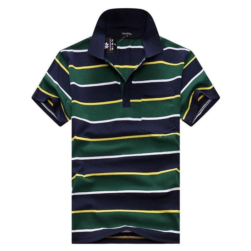 HOWL LOFTY Striped Men's   Polos   New Summer Cotton Short Sleeve   Polo   Shirts Casual Male Fashion Turndown Collar Boys   Polos   2019