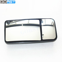 Automobile Accessories Car Styling Reflector Rearview Mirror Side Mirror Exterior 2 Holes For Truck For Bus