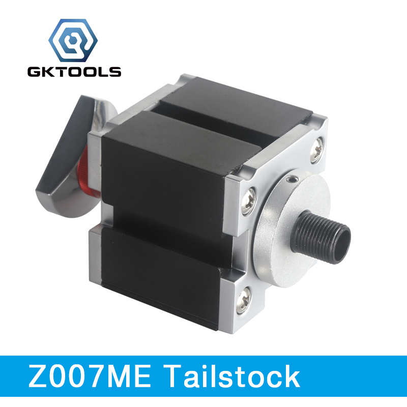GKTOOLS, Electroplated Metal Tailstock used for fix the workpiece, clamp the cutting tools, Z007ME все цены