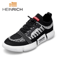 HEINRICH 2018 Hot Spring Summer Fashion Men Casual Shoes Comfortable Male Sneakers For Adult High Quality Men Shoes Chaussures
