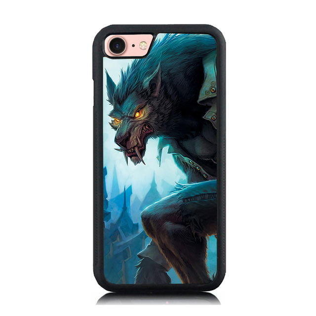 wholesale dealer f5159 c56ab US $4.98 |Murderous Werewolf Printed Mobile Phone Case Cover For iPhone 7 7  Plus 6 6S Plus 5 5S SE Soft TPU Skin Hard Back Shell Cover-in Fitted Cases  ...