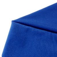 50 150cm Light Blue Solid Color Fleece Fabric Tilda Plush Cloth For Sewing Velvet Fleece Doll