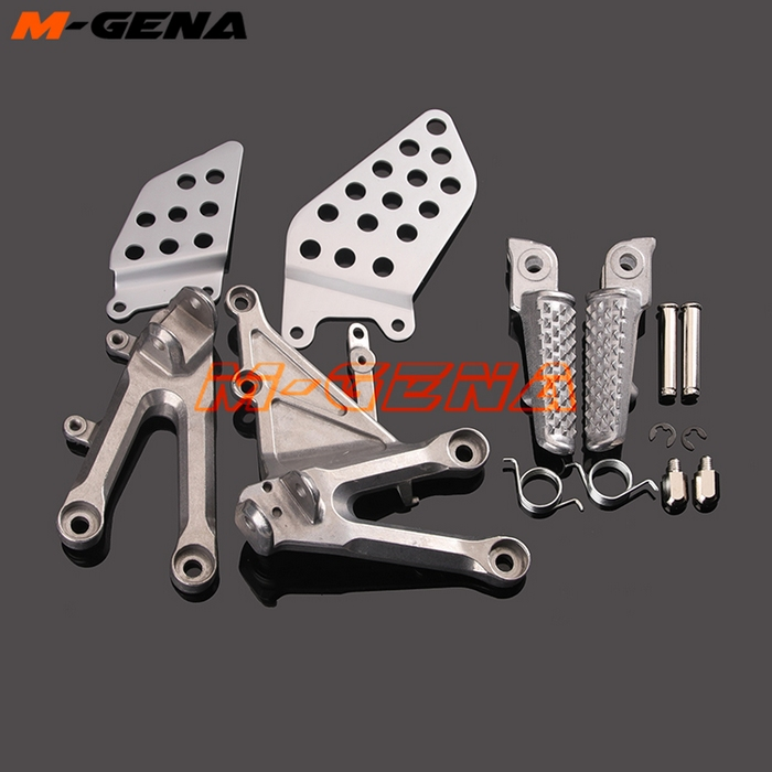 Front Footpegs Foot Pegs Footrest Pedals Bracket For CBR1000RR CBR 1000RR 1000 RR 04 05 06 07 2004 2005 2006 2007
